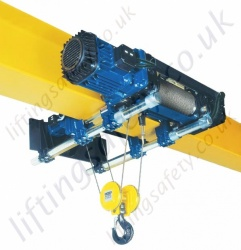 Single Beam Electric Rope Hoist