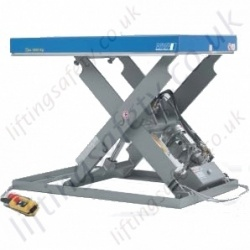 "Pfaff Static ""Long Platform Size"" Electric Scissor Lift Table - Lifting Capacities 2000kg - 10,000kg, 1000mm - 1600mm Lifting Height (8 Options)"