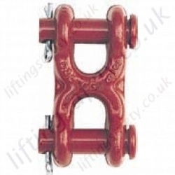 Crosby S249 Twin Clevis Link - Range from 2130kg to 5100kg