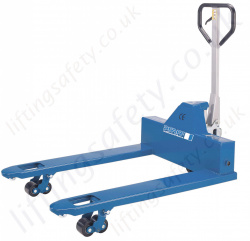 "Pfaff ""Wide"" Pallet Truck with a Extra Wide Forks 850mm x 1150mm - 2000kg"