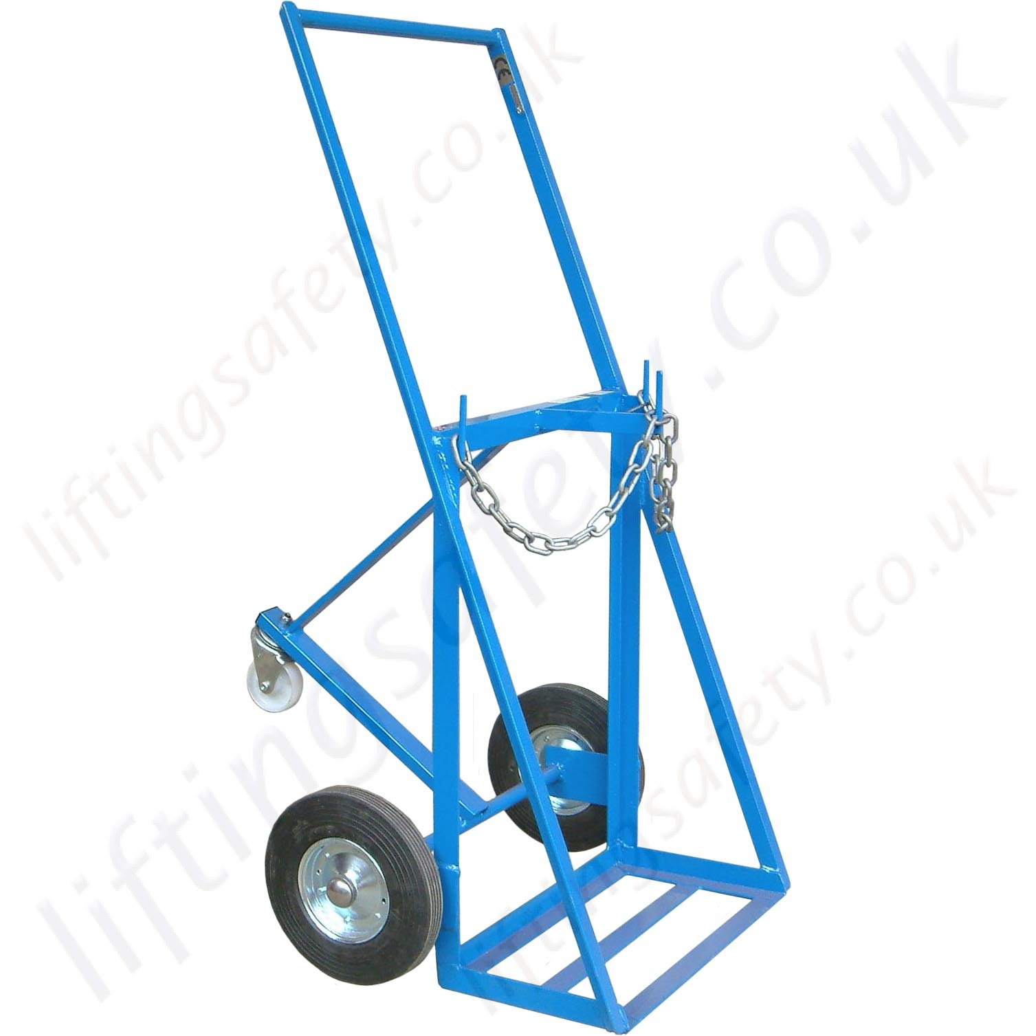 Double Cylinder Push Trolley For Oxy Acetylene Gas