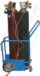 4 Wheel Oxy-acetylene Trolley