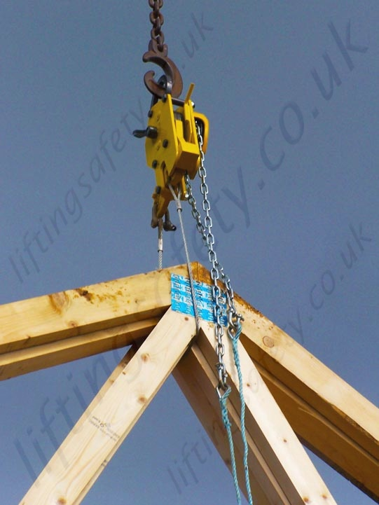 Anti Working At Height Remote Release Lifting Clamp Hook