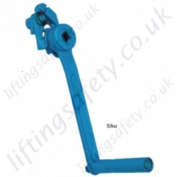 Pfaff-Silberblau SIKU Safety Ratchet Crank - 17mm or 14mm square hole.