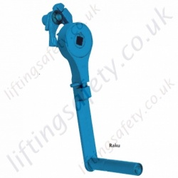 Pfaff Silberblau RAKU Safety Ratchet Crank - 17mm square hole.