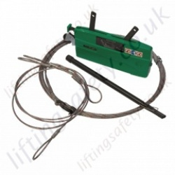"Tractel ""Jockey J3 / J5"" Tirfor Cable Puller for Lifting and Pulling Applications - 300kg or 500kg (Lifting Capacity)"