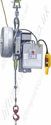 "Tractel ""Tirak"" Wire Rope Lifting Hoists. 230v, 110v and 400v Options - Range from 300kg to 3000kg (non man-riding version)"