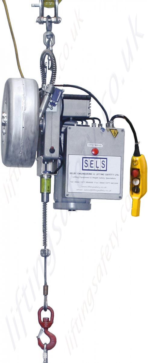 Tractel Quot Tirak Quot Electric Man Riding Wire Rope Hoist With