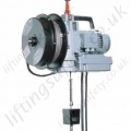 Tractel TR Minifor Lifting Hoist with Spring Loaded Cable Reeler. 230v, 110v and 400v Options - Range from 100kg - 950kg