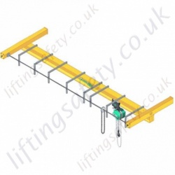 Manual Geared Overhead Crane - Range from 250kg to 6300kg
