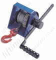 Tractel CAROL TR Manual Geared Winches - Range from 300kg to 2000kg