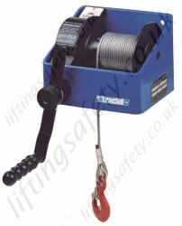 Tractel CAROL TS Worm Geared Winches - Range from 250kg to 3000kg