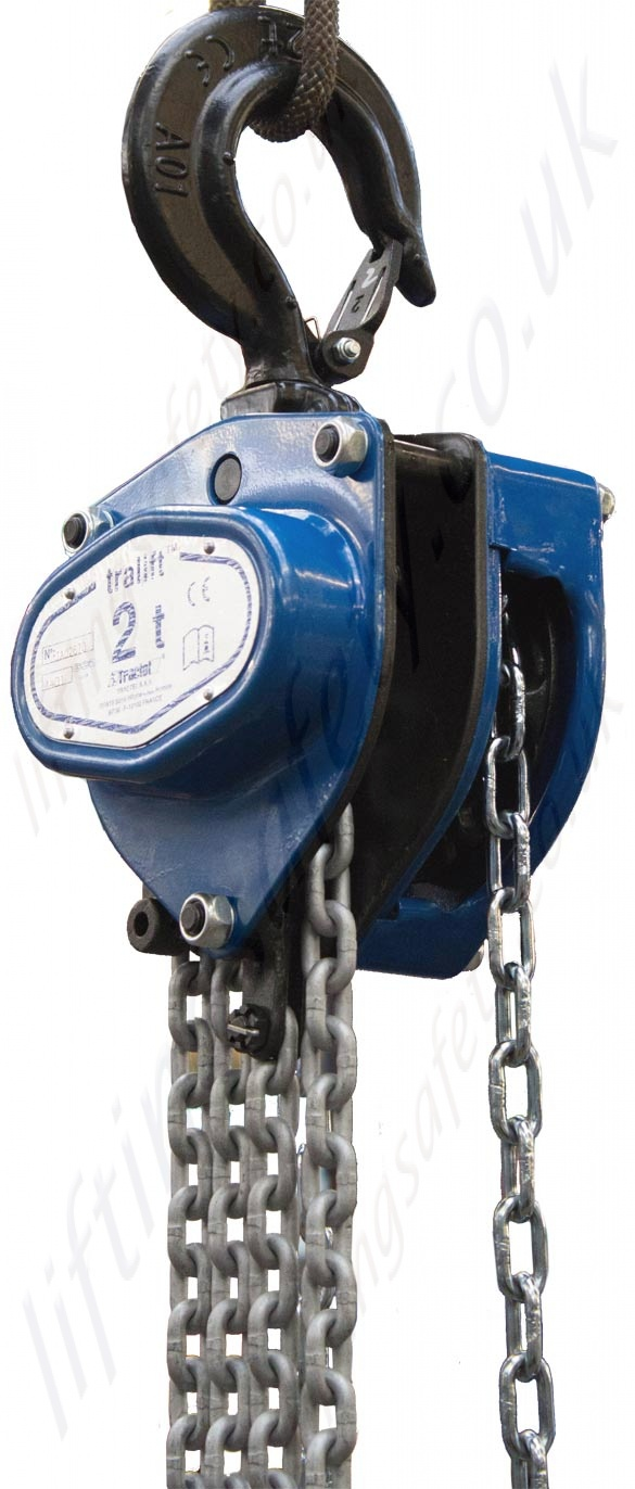 Hand lifting chain hoist for material handling | tralift | tractel.