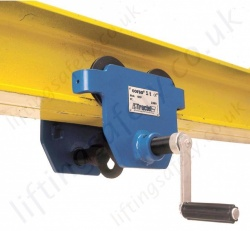 Tractel CORSO Overhead Travelling Trolleys - Range from 250kg to 20,000kg