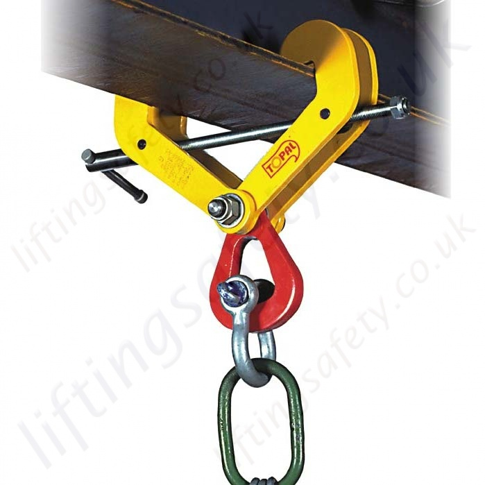 Tractel Topal Gp Beam Clamp Range From 1000kg To 10