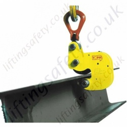 Tractel TOPAL KP Semi-Automatic Clamp for Lifting Girders - 1500kg or 3000kg