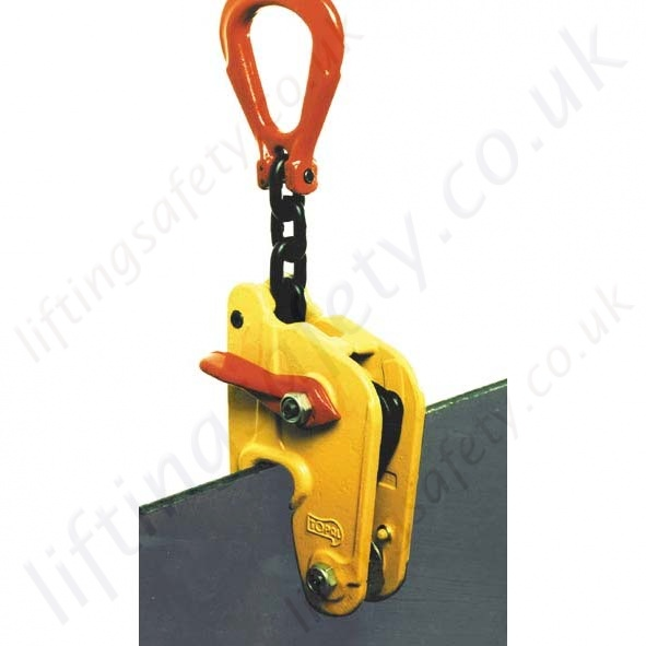 Tractel topal nk multi position self locking plate clamps