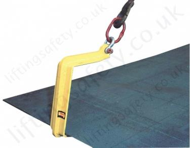 QS - Simple hooks for horizontal plates (for use in sets of 4 with lifting beam)