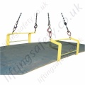 Tractel TOPAL QS / QR / QX Hooks (Lifting Dogs) for Horizontal Plates - Range from 1500kg to 10,000kg