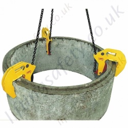Tractel TOPAL RB Manhole Hook for Use in Pairs or Sets of Three - Range from 500kg to 1500kg