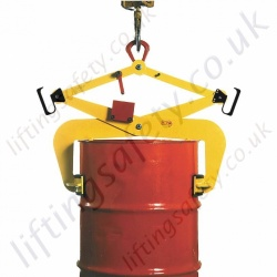 Tractel TOPAL VFR / VFA Grabs for lifting standard metal drums in vertical position - 300kg or 500kg Capacity