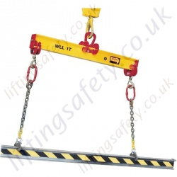Tractel TOPAL PBF Fixed Single Lifting Beams - Range from 1000kg to 6000kg