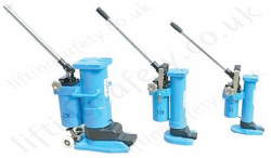 Tractel HYDROFOR Hydraulic Toe Jacks - Range from 5000kg to 25,000kg