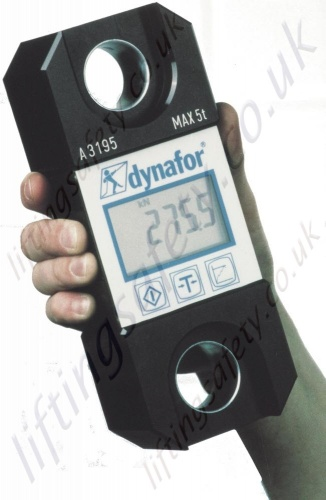 Tractel Dynafor Llx For Checking Loads And Measuring
