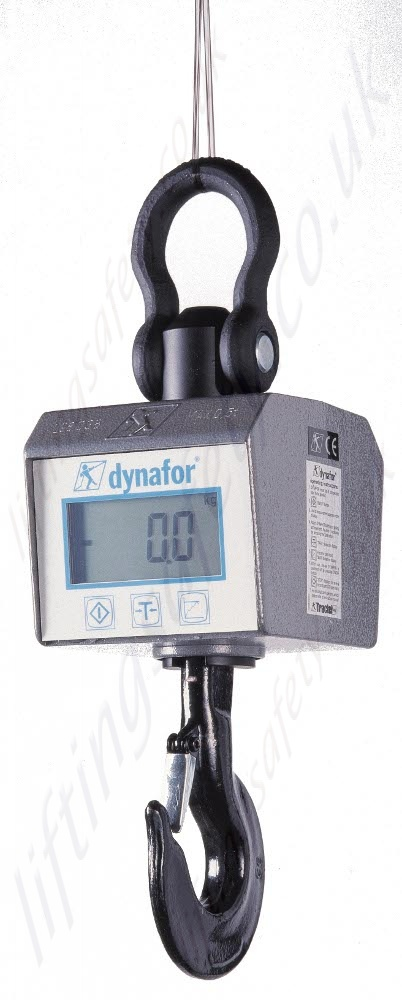 Hoist Load Indicator : Tractel dynafor mwx crane scale range from kg to