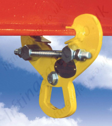 "Riley Superclamp ""PFC"" Permanently Fixed Adjustable Girderclamps, WLL of 1000kg or 2000kg"