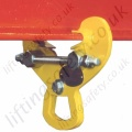 Riley Superclamps PFC1/2 Permanently Fixed Adjustable Girderclamps, WLL of 1000kg or 2000kg
