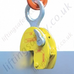 "Riley Superclamps ""PLC"" Horizontal to Vertical Plate Lifting Clamp - Range from 1000kg to 4000kg"
