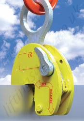 "Riley Superclamp ""PLC"" Horizontal to Vertical Plate Lifting Clamp - Range from 1000kg to 4000kg"
