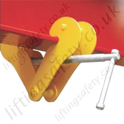 Riley Superclamps ES Budget Adjustable Girder Clamp - Range from 1000kg to 5000kg