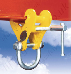 "Riley Superclamp ""Fixed Jaw"" Adjustable Girder Clamps - Range from 2000kg to 15000kg"