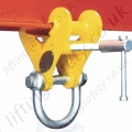 Riley Superclamps S Fixed Jaw Adjustable Girder Clamps - Range from 2000kg to 15000kg
