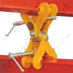 Riley Superclamps S Adjustable Double Ended Monorail Construction Clamp - 3000kg or 4000kg
