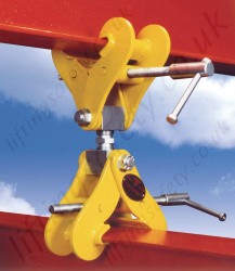 Riley Superclamp Adjustable Height Double Ended Monorail Construction Clamp - 3000kg or 4000kg