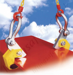 "Riley Superclamp ""HPC"" Horizontal Plate Lifting Clamps - Range Per Pair from 1500kg to 4000kg"