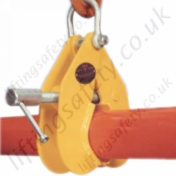 Riley Superclamps P Adjustable Pipe and Round Section Lifting Clamps - Range from 1000kg to 4000kg