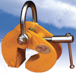 "Riley Superclamp ""BFC"" Adjustable Bulb Flats Section Clamps - 1000kg or 3000kg"