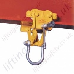 Riley Superclamps BA, Adjustable Lightweight Runway Beam Trolleys - Range from 1000kg to 2000kg