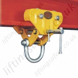 Riley Superclamps B, Adjustable Runway Beam Trolley - Range from of 3000kg to 10,000kg