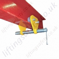 Riley Superclamps PT, Adjustable Push Travel Trolley Clamp - Range from 500kg to 3000kg