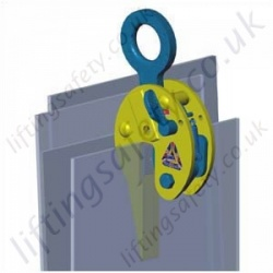 Camlok CZ Heavy Duty Plate Clamp - Range from 1000kg to 30,000kg