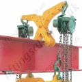"Riley Superclamps ""EL1"" Adjustable Double Sided Easy Lift Clamp Used for Hoist Installation, SWL 200kg"