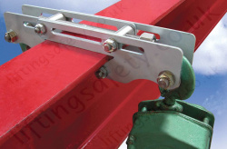"Riley Superclamp ""ELL1"" Low Profile Overhead Beam Clamp Used for Hoist Installation - 200kg"