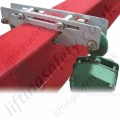 "Riley Superclamps ""ELL1"" Low Profile Overhead Beam Clamp Used for Hoist Installation - 200kg"
