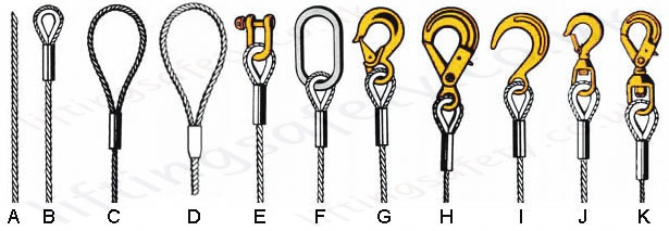 Wire Rope Lifting Slings Built to Customers Specification - Range ...