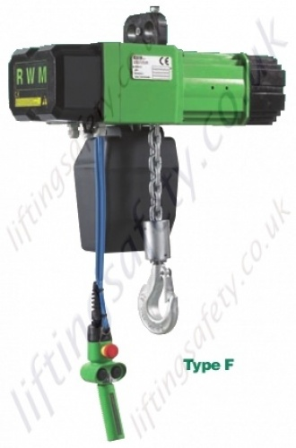 RWM Chain Hoist Type F WR Series